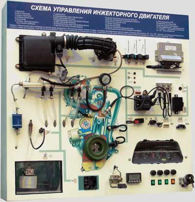 «Схема управления инжекторного